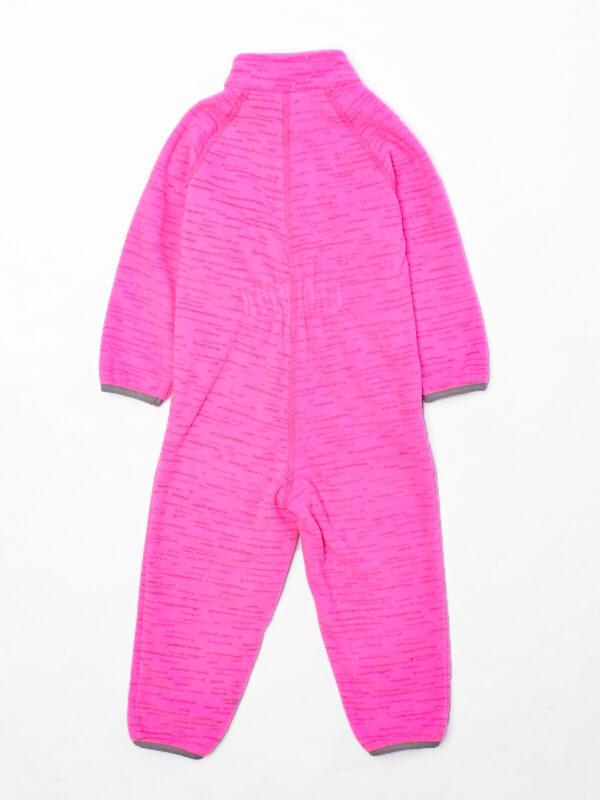 Комбинезон флисовы 4й UKI kids «Егоза» розовый меланж
