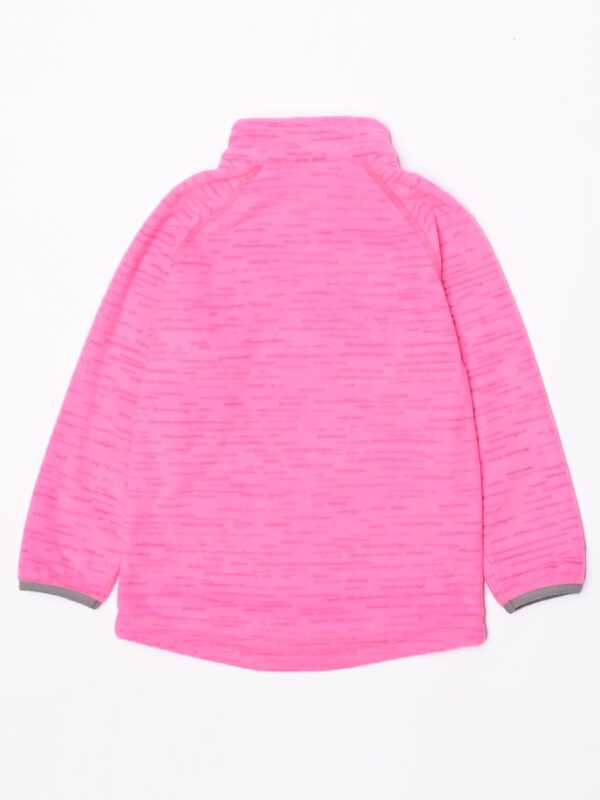 Кофта флисовая UKI kids «Забота» розовый меланж 4