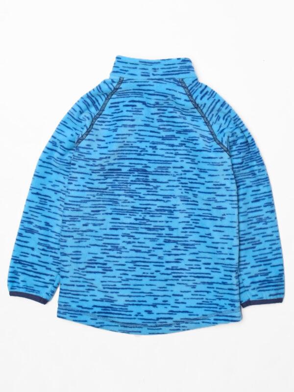 Кофта флисовая UKI kids «Забота» синий меланж 4