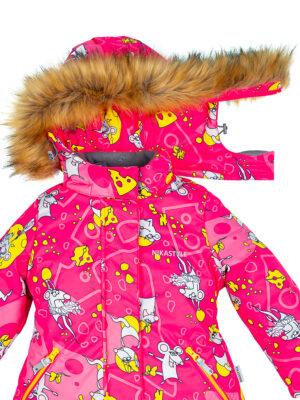 Комплект зимний для девочки Nikastyle 7з0821 фуксия 5