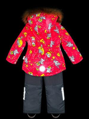 Комплект зимний для девочки Nikastyle 7з0821 фуксия 8
