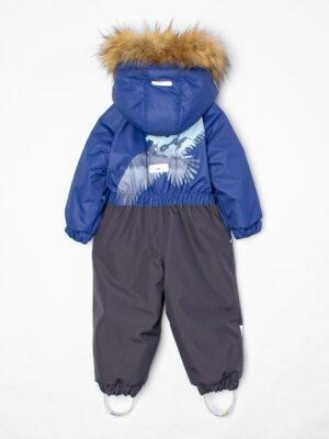 Комбинезон зимний для мальчика UKI kids «Орёл» синий 6