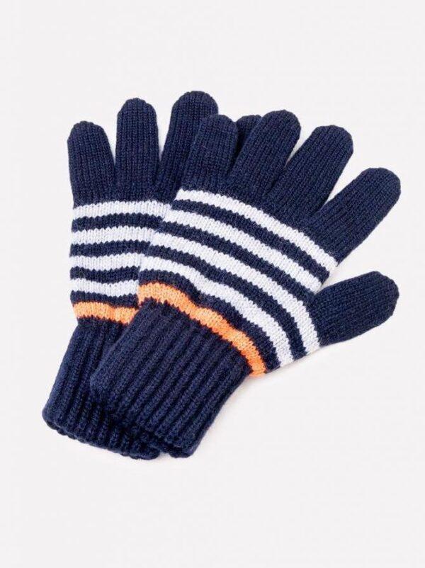 Перчатки Crockid к148/ш темно-синий/яр.оранжевый