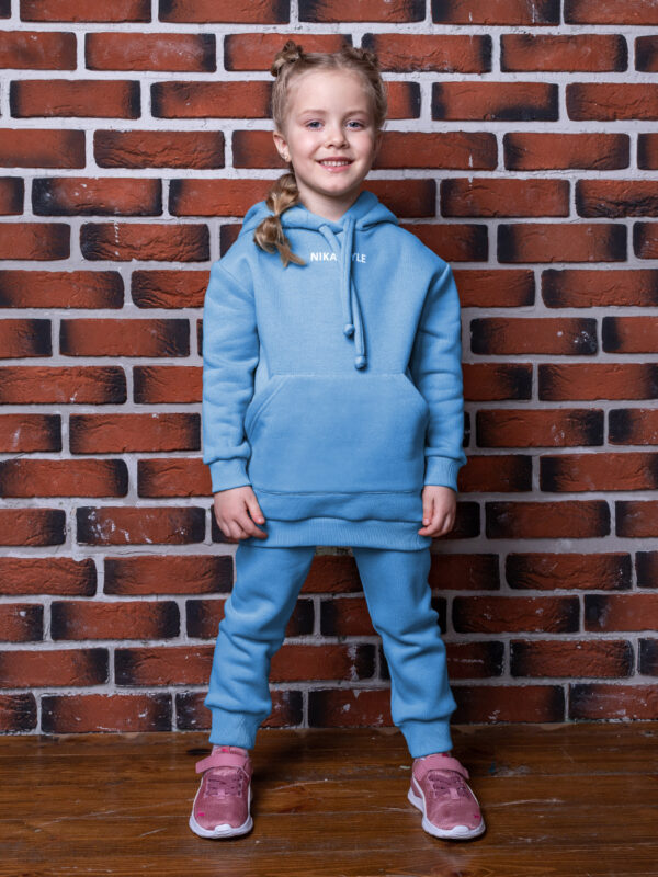 Комплект для девочки Nikastyle 7т12021.2 голубой