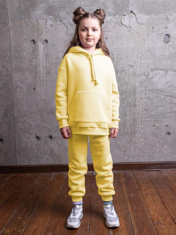 Комплект для девочки Nikastyle 7т12021.2 желтый