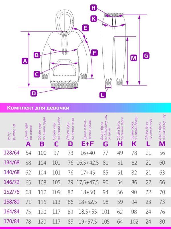 Комплект для девочки Nikastyle 7т12221.2
