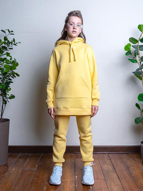 Комплект для девочки Nikastyle 7т12221.2 желтый