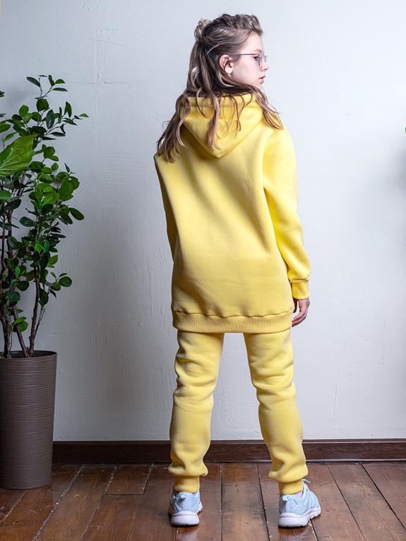 Комплект для девочки Nikastyle 7т12221.2 желтый 1