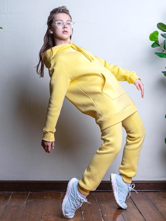 Комплект для девочки Nikastyle 7т12221.2 желтый 2