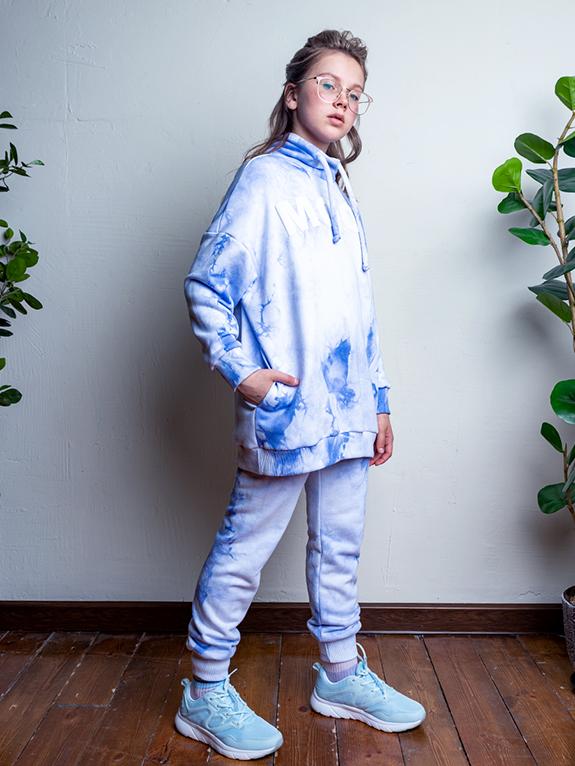 Комплект для девочки 7т12421.2 голубой 1