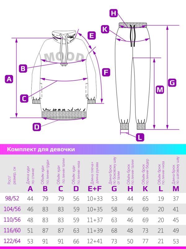 Комплект для девочки Nikastyle 7т12621.2