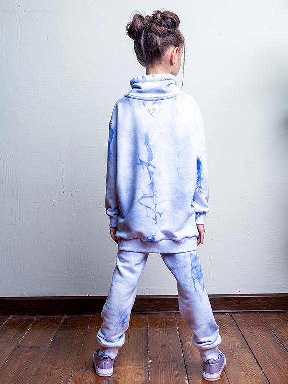Комплект для девочки Nikastyle 7т12621.2 голубой 1
