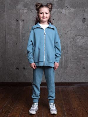 Комплект для девочки Nikastyle 7т13821.2 темная мята