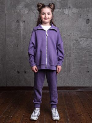 Комплект для девочки Nikastyle 7т13821.2 фиолетовый 1