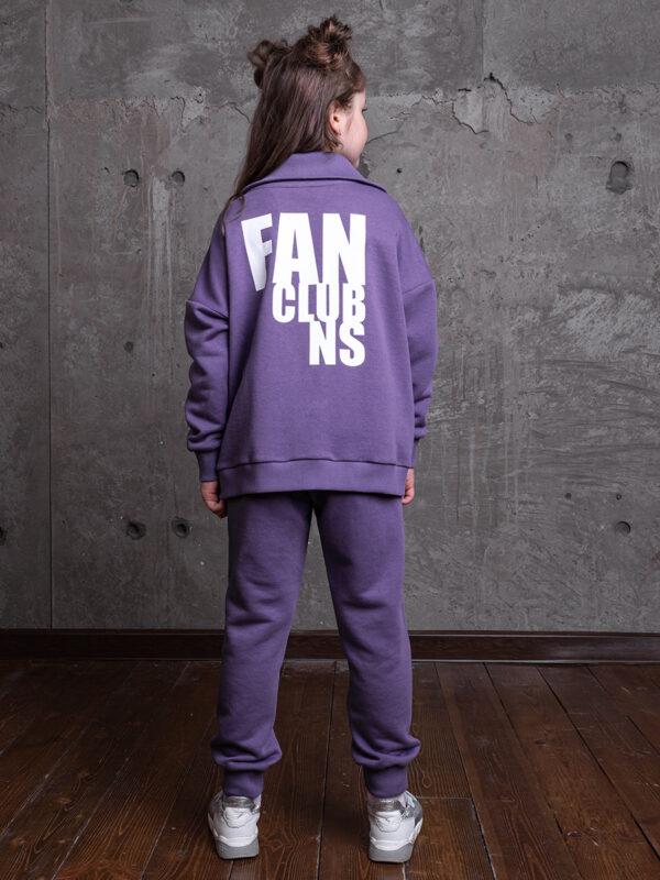 Комплект для девочки Nikastyle 7т13821.2 фиолетовый 2