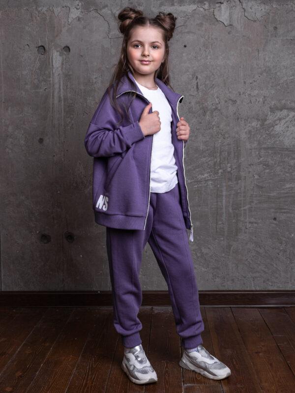 Комплект для девочки Nikastyle 7т13821.2 фиолетовый