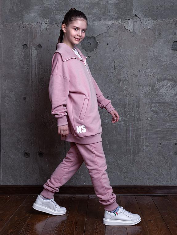 Комплект для девочки Nikastyle 7т13821.2 пудровый 1