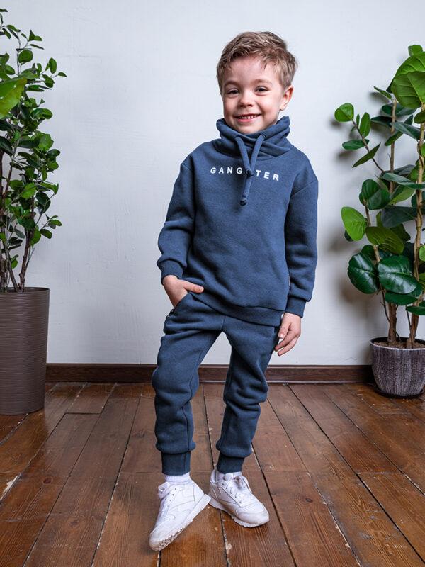 Комплект для мальчика Nikastyle 7т7121.2 джинсовый
