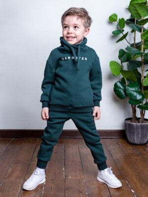 Комплект для мальчика Nikastyle 7т7121.2 зеленый