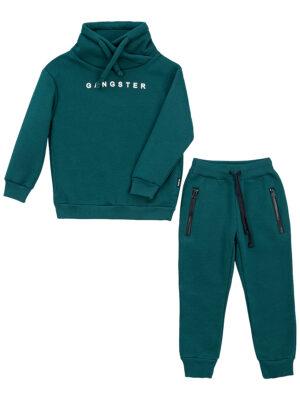 Комплект для мальчика Nikastyle 7т7121.2 зеленый 1