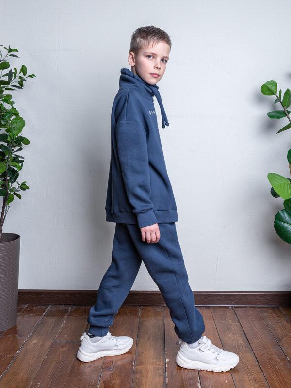 Комплект для мальчика Nikastyle 7т7321.2 джинсовый 1
