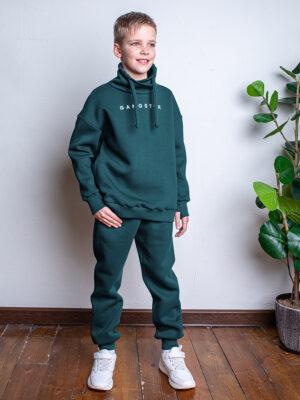 Комплект для мальчика Nikastyle 7т7321.2 зеленый