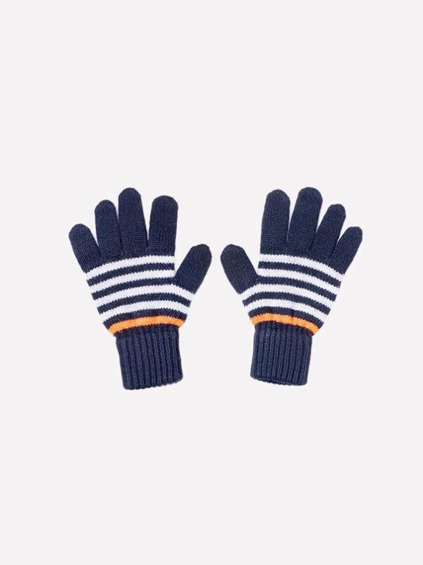 Перчатки Crockid к148/ш темно-синий/яр.оранжевый 1