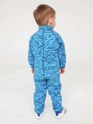 Комбинезон флисовый UKI kids «Егоза» синий меланж 1