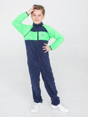 Комбинезон флисовый UKI kids «Комфорт» темно-синий