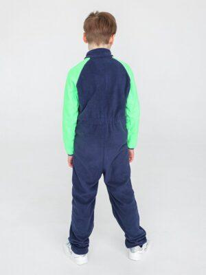 Комбинезон флисовый UKI kids «Комфорт» темно-синий 1