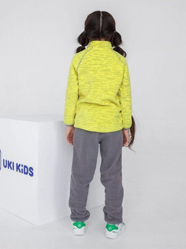 Кофта флисовая UKI kids «Забота» желтый 1
