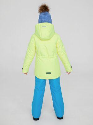 Комплект зимний для девочки Potomok by UKI kids Скай желтый 2