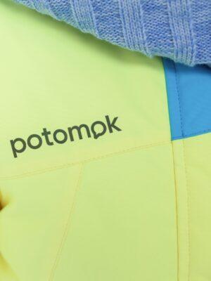 Комплект зимний для девочки Potomok by UKI kids Скай желтый 3