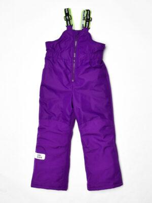 Комплект зимний для девочки UKI kids Балет фиолетовый-коралл 12