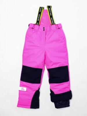 Комплект зимний для девочки UKI kids Сюзанна синий-розовый 11
