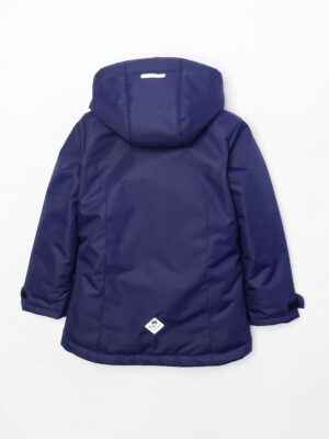 Комплект зимний для девочки UKI kids Сюзанна синий-розовый 9