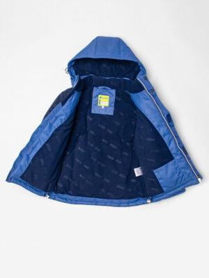 Комплект зимний для мальчика UKI kids Деним синий-джинс 10