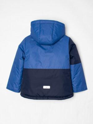 Комплект зимний для мальчика UKI kids Деним синий-джинс 12