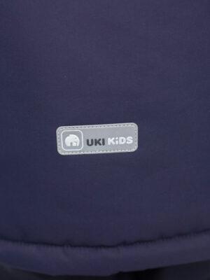 Комплект зимний для мальчика UKI kids Деним синий-джинс 4