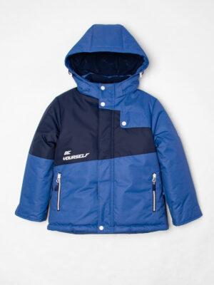 Комплект зимний для мальчика UKI kids Деним синий-джинс 9