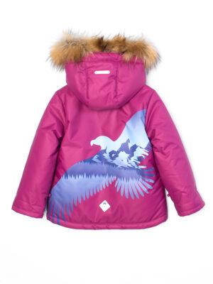 Комплект зимний для мальчика UKI kids Полет бордовый 5