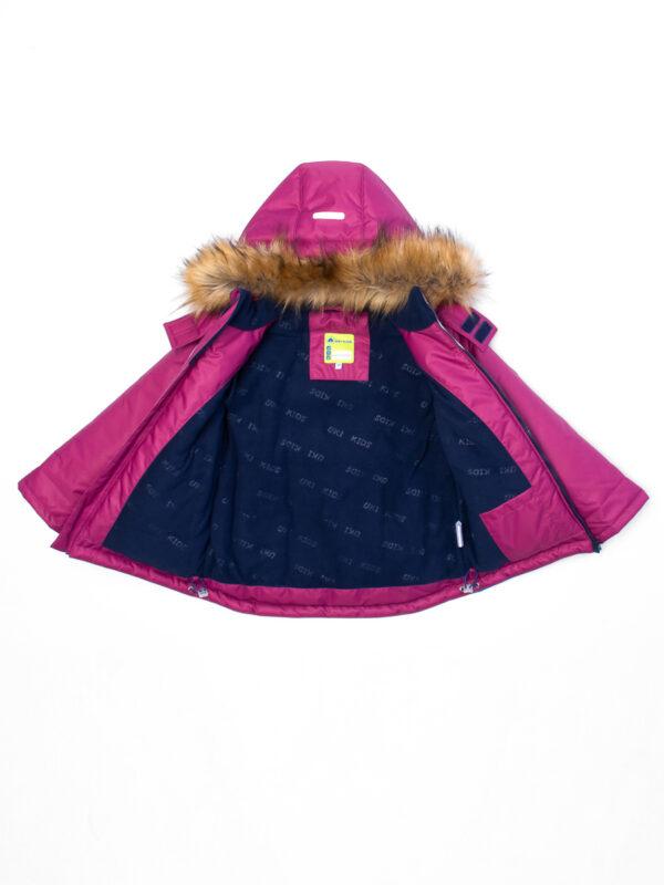 Комплект зимний для мальчика UKI kids Полет бордовый 6