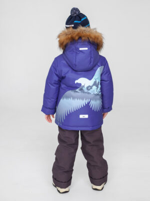 Комплект зимний для мальчика UKI kids Полет синий 1