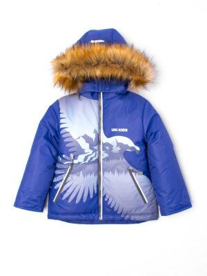 Комплект зимний для мальчика UKI kids Полет синий 3