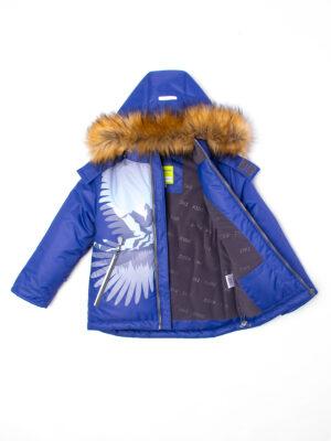 Комплект зимний для мальчика UKI kids Полет синий 4