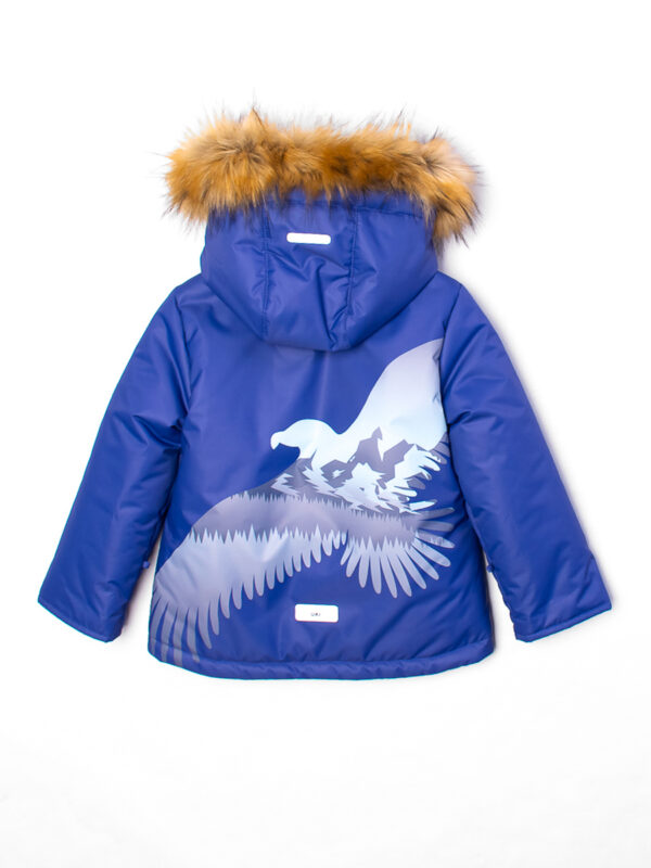Комплект зимний для мальчика UKI kids Полет синий 5