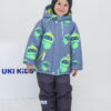 Комплект зимний для мальчика UKI kids Робот серый