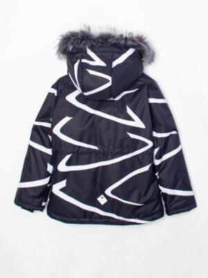 Комплект зимний UKI kids Зиг-заг черный-желтый 7