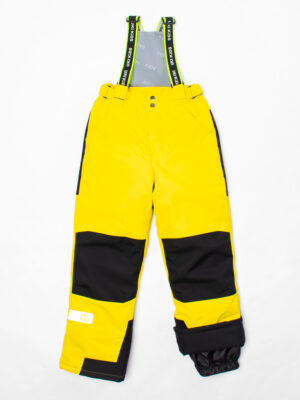 Комплект зимний UKI kids Зиг-заг черный-желтый 8