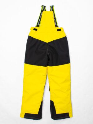 Комплект зимний UKI kids Зиг-заг черный-желтый 9